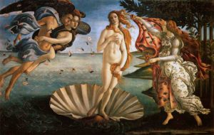 The Birth of Venus by Bottocelli