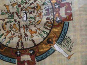 Egyptian Calendar Quadrant